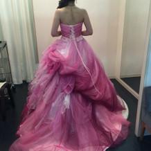 プリンセスラインのピンクカラーです。