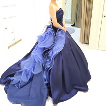 タカミブライダルさんのカラードレス