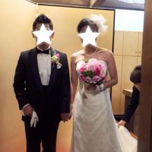 洋装ドレス、タキシード、ヘアードも素敵