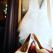 モニークルイリエのマーメイドドレス