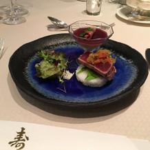日本食の前菜