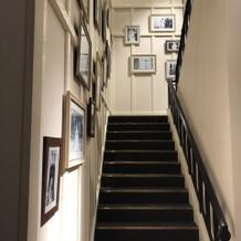 二階へと続く階段 フォトスポット