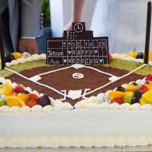 お気に入りのウエディングケーキ!