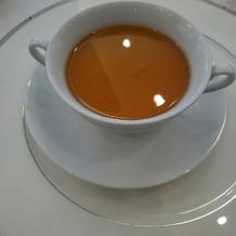 茶碗蒸しのようなスープでとても美味しい