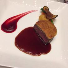 メインのお肉料理!