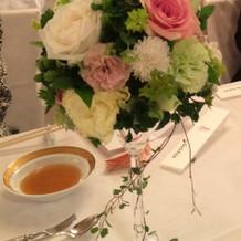 素敵な装花でした。