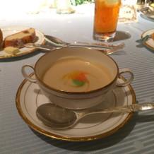 スープもカラフル