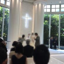 式場の写真です。