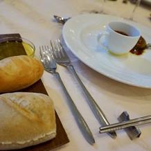 パンも数種類ありとても美味しかった