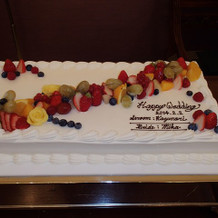 ケーキの種類もいっぱいありました!