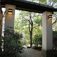 バンブーコート邸のお庭