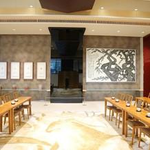 伊勢山皇大神宮の親族待合室