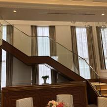 階段入場もできます