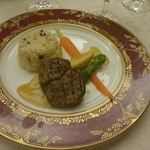 メインのお肉は、高めのものを選びました。