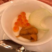 豆腐のブラマンジェ 優しいお味でした。