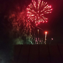 小雨だったけど本当に素晴らしい花火でした