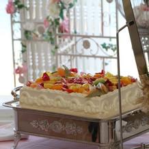 生フルーツケーキ
