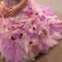 ドレス飾りアップ