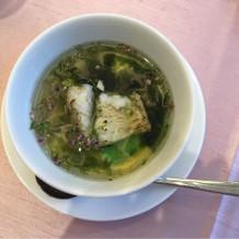コンソメスープ、茶わん蒸し仕立て