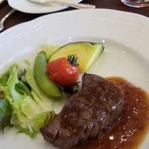 お肉がとても柔らかく美味しかったです