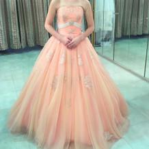 一目惚れのカラードレス