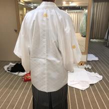 前撮りの白袴