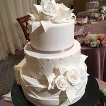 ケーキの装飾がおしゃれ