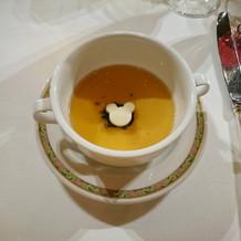 スープでは、なかった…。