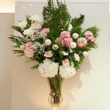 ライトアップ装花