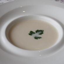 冷製スープ美味しかったです