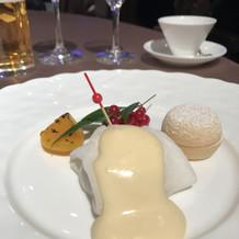 15000円の和食コースのデザート