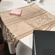 テーブルククロス、ランナー