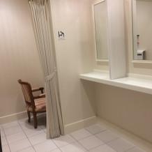 ゲスト用のお手洗いは綺麗