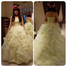 アンテプリマのドレス