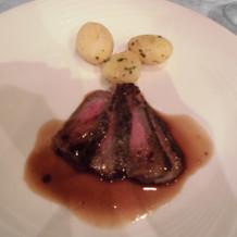 お肉料理 国産黒毛和牛サーロインのポワレ