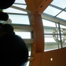 教会の天井