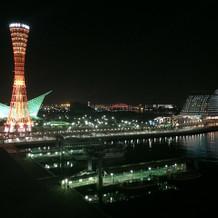 夜景と写真も綺麗です