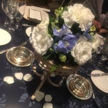 テーブル装花も可愛かったです