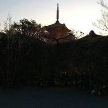 京都を感じさせる集合写真スポット