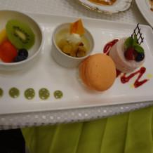 デザート(試食時)