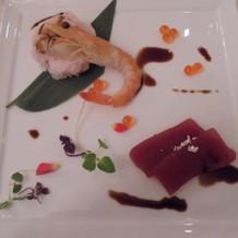 フレンチスタイルのお寿司