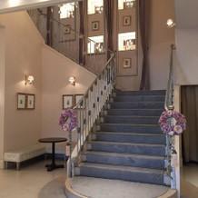 綺麗な階段