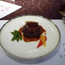 牛フィレステーキ&フォアグラ