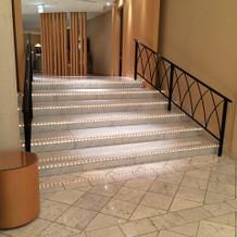 チャペル外階段