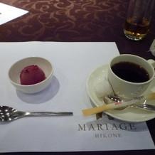 シャーベット&コーヒー