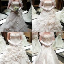 エヴァーズさんの白ドレス