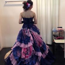 カラードレスがどれも可愛くて迷います。