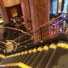 とても写真映えのする階段です!