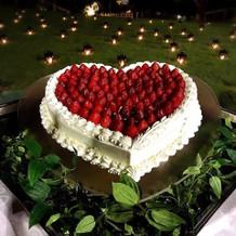 すっごく可愛いウェディングケーキでした