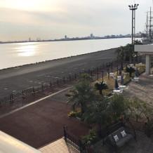 名古屋港が一望できます。